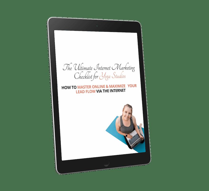 Free Yoga Studio Marketing Checklist